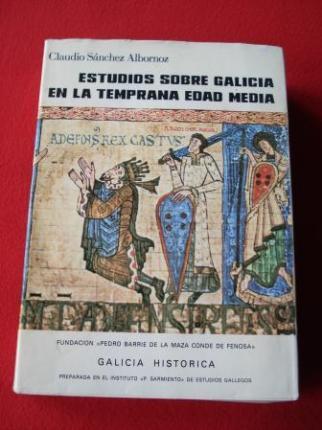 Estudios sobre Galicia en la temprana Edad Media - Ver os detalles do produto