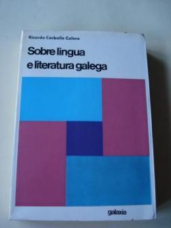 Ver os detalles de:  Sobre lingua e literatura galega