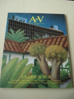 Ver os detalles de:  A & V Monografías de Arquitectura y Vivienda nº 13. América Sur