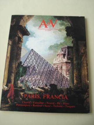 A & V Monografías de Arquitectura y Vivienda nº 17. París, Francia - Ver os detalles do produto