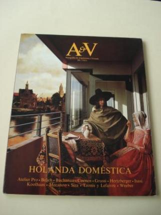 A & V Monografías de Arquitectura y Vivienda nº 19. Holanda doméstica - Ver os detalles do produto