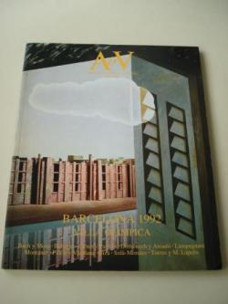 Ver os detalles de:  A & V Monografías de Arquitectura y Vivienda nº 22. Barcelona 1992. Villa olímpica