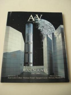 Ver os detalles de:  A & V Monografías de Arquitectura y Vivienda nº 31. Jean Nouvel 1981-1991