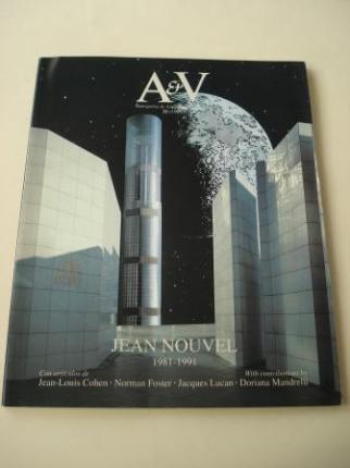 A & V Monografías de Arquitectura y Vivienda nº 31. Jean Nouvel 1981-1991 - Ver os detalles do produto