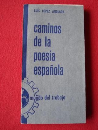 Caminos de la poesía española (Poetas castellanos de hoy) - Ver os detalles do produto