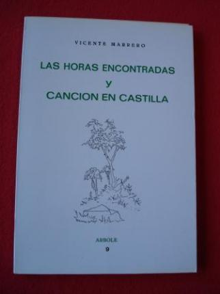 Las horas encontradas y Canción en Castilla - Ver os detalles do produto
