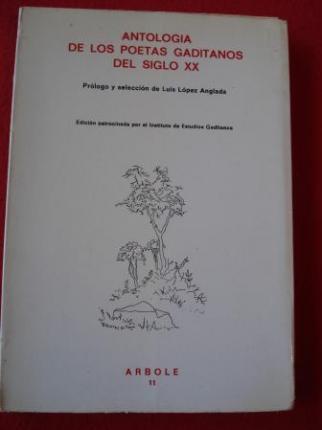 Antología de los poetas gaditanos del siglo XX - Ver os detalles do produto