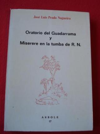 Oratorio del Guadarrama / Miserere en la tumba de R. N. - Ver os detalles do produto