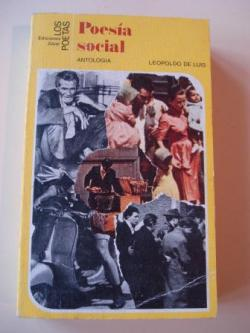 Ver os detalles de:  Poesía social española contemporánea. Antología (1939-1968)