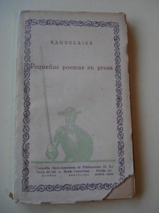 Pequeños poemas en prosa - Ver os detalles do produto