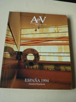 Ver os detalles de:  A & V Monografías de Arquitectura y Vivienda nº 45-46. España 1994. Anuario/Yearbook