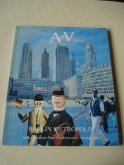 Ver os detalles de:  A & V Monografías de Arquitectura y Vivienda nº 50. Berlín metrópolis