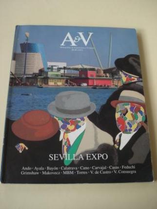 A & V Monografías de Arquitectura y Vivienda nº 34-35. Sevilla Expo - Ver os detalles do produto