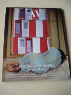 Ver os detalles de:  A & V Monografías de Arquitectura y Vivienda nº 56. Vivienda europea. European Housing