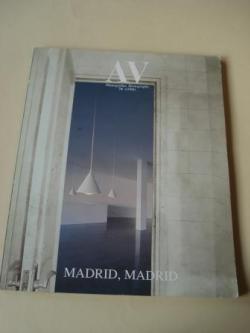 Ver os detalles de:  A & V Monografías de Arquitectura y Vivienda nº 74. Madrid, Madrid
