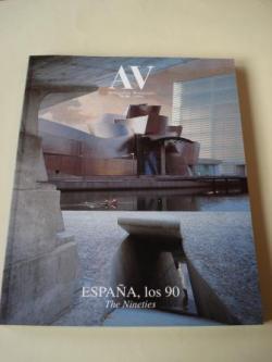 Ver os detalles de:  A & V Monografías de Arquitectura y Vivienda nº 79-80. España, los 90. The Nineties