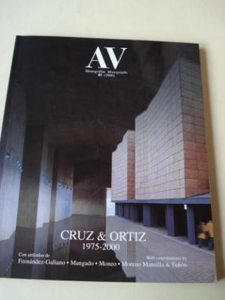 A & V Monografías de Arquitectura y Vivienda nº 85. Cruz & Ortiz 1975-2000 - Ver los detalles del producto
