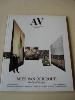 Ver os detalles de:  A & V Monografías de Arquitectura y Vivienda nº 92. Mies van der Rohe. Berlín/Chicago