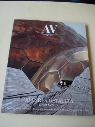 A & V Monografías de Arquitectura y Vivienda nº 96. Grandes detalles. Great Details - Ver los detalles del producto