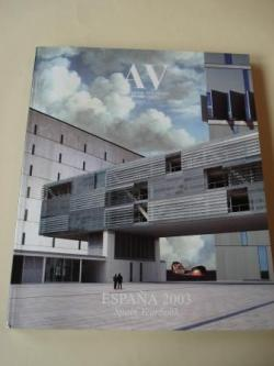 Ver os detalles de:  A & V Monografías de Arquitectura y Vivienda nº 99-100. España 2003. Spain Yearbook