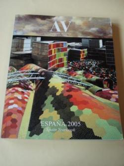 Ver os detalles de:  A & V Monografías de Arquitectura y Vivienda nº 111-112. España 2005. Spain Yearbook