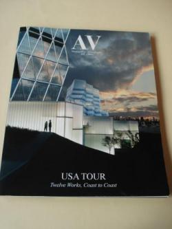 Ver os detalles de:  A & V Monografías de Arquitectura y Vivienda nº 122. Usa tour. Twelve Works, Coats to Coats