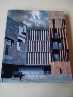 Ver os detalles de:  A & V Monografías de Arquitectura y Vivienda nº 123-124. España 2007. Spain Yearbook