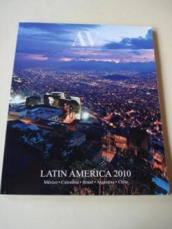 Ver os detalles de:  A & V Monografías de Arquitectura y Vivienda nº 138. LATIN AMERICA. México.Colombia.Brasil.Argentina. Chile