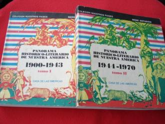 Panorama histórico-literario de nuestra América 1900-1943. 2 tomos - Ver os detalles do produto
