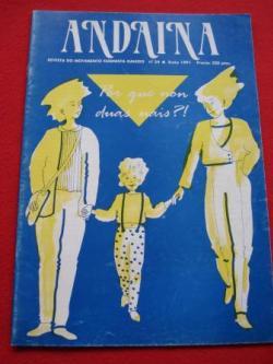Ver os detalles de:  ANDAINA. Revista do Movimento Feminista. 1ª época. Nº 24. Xuño 1991