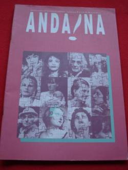 Ver os detalles de:  ANDAINA. Revista Galega de Pensamento Feminista. 2ª época. Nº 8. Abril 1994