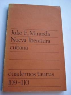 Ver os detalles de:  Nueva literatura cubana