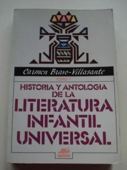 Ver os detalles de:  Historia y antología de la literatura infantil universal. TOMO I