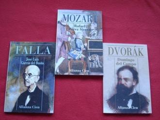 Lote de 3 libros: Biografías de compositores - Ver os detalles do produto