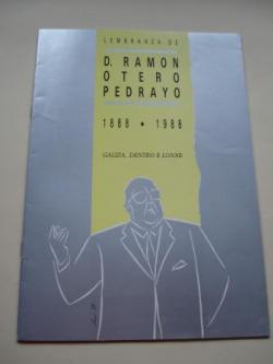 Ver os detalles de:  Lembranza de D. Ramón Otero Pedrayo 1888-1988. Galiza, dentro e lonxe