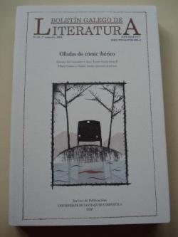 Ver os detalles de:  BOLETÍN GALEGO DE LITERATURA. Nº 35 - 1º Semestre, 2006: Olladas do cómic ibérico
