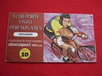 Álbum de cromos EL DEPORTE VISTO POR SUS ASES - CICLISMO - ÁLBUM 10 - Ver os detalles do produto