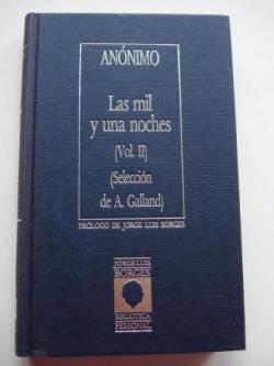 Ver os detalles de:  La mil y una noches. Vol. II (Selección de A. Galland)