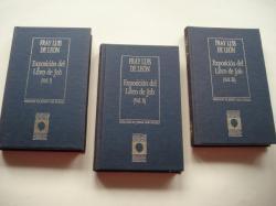 Ver os detalles de:  Exposición del Libro de Job. Vol. I, Vol. II y Vol.III