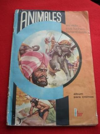 Álbum de cromos ANIMALES. SU VIDA... SUS LUCHAS... SU AMBIENTE - Ver os detalles do produto