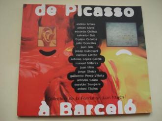 De Picasso a Barceló. Collection de la Fondation Juan Marc (Textos en francés)h - Ver os detalles do produto