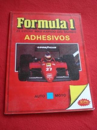 Fórmula 1. El coche más rápido del mundo. Adhesivos - Ver os detalles do produto
