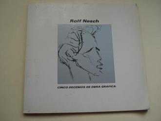 ROLF NESCH. Cinco decenios de obra gráfica. Museo Español de Arte Contemporáneo. Madrid, 1985 - Ver os detalles do produto