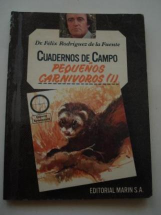 Pequeños carnívoros (I). Cuadernos de campo, nº 13 - Ver os detalles do produto