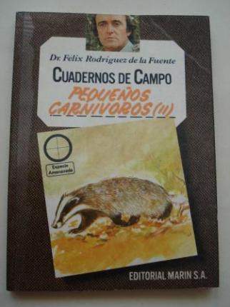 Pequeños carnívoros (II). Cuadernos de campo, nº 49 - Ver os detalles do produto