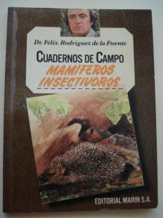 Mamíferos insectívoros. Cuadernos de campo, nº 58 - Ver os detalles do produto