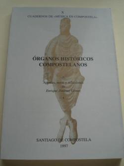 Ver os detalles de:  Órganos históricos compostelanos. Cuadernos de `Música en Compostela´, Vol. X