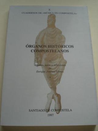 Órganos históricos compostelanos. Cuadernos de `Música en Compostela´, Vol. X - Ver los detalles del producto
