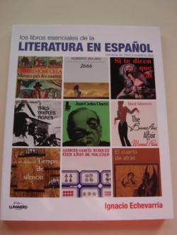 Ver os detalles de:  Los libros esenciales de la literatura en español