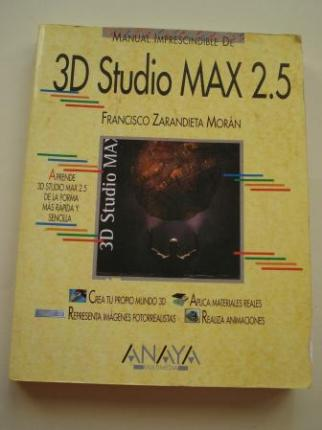 Manual Imprescindible de 3D Studio MAX 2.5 - Ver os detalles do produto